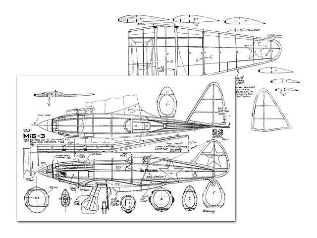 MiG-3 (oz9107) by Pres Bruning
