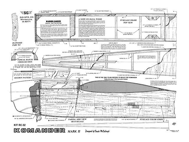 Komander Mk II - plan thumbnail image