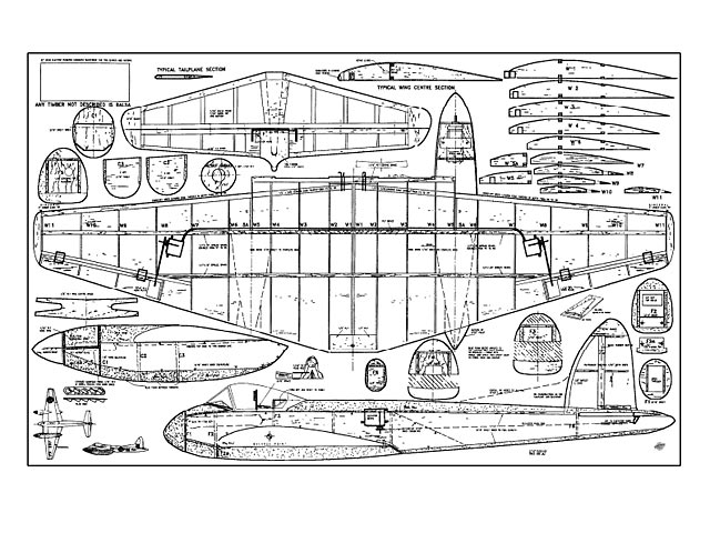 DH Hornet - plan thumbnail image