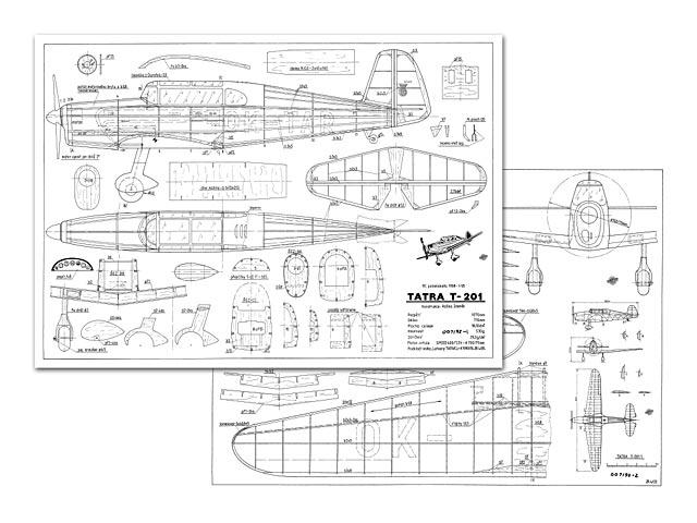 Tatra T-201 - plan thumbnail image