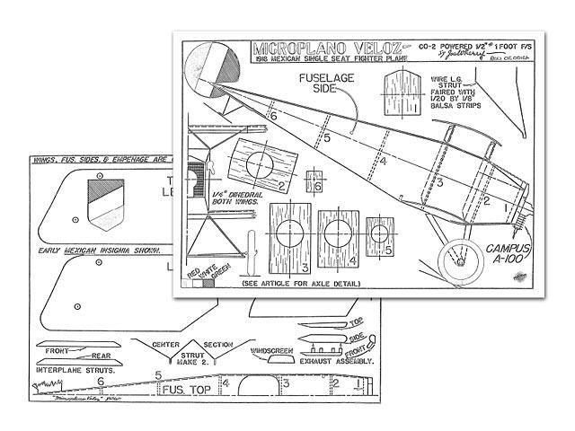 Microplano Veloz - plan thumbnail image