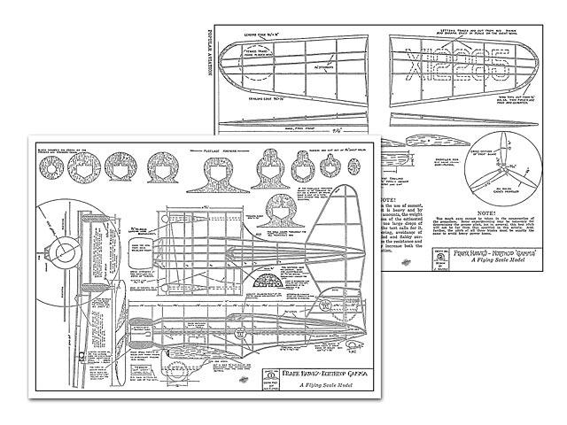 Northrop Gamma - plan thumbnail image