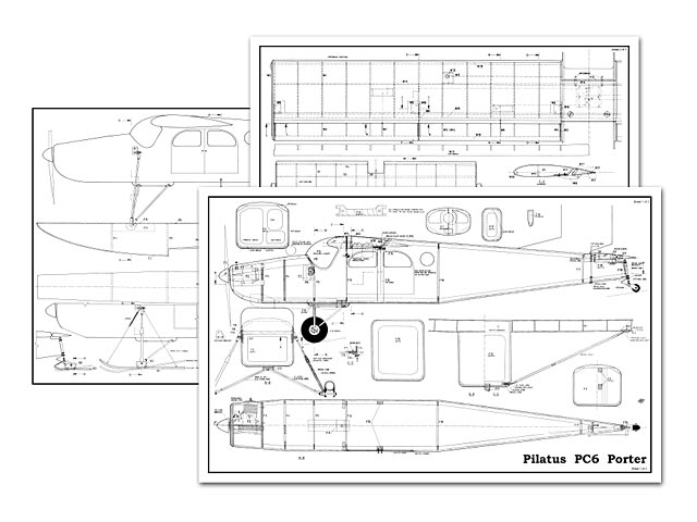 Pilatus Porter - plan thumbnail image