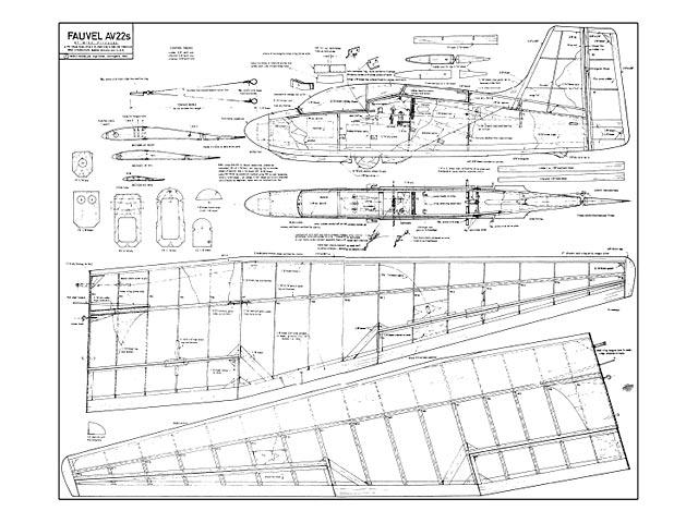 Fauvel AV.22S - 9343