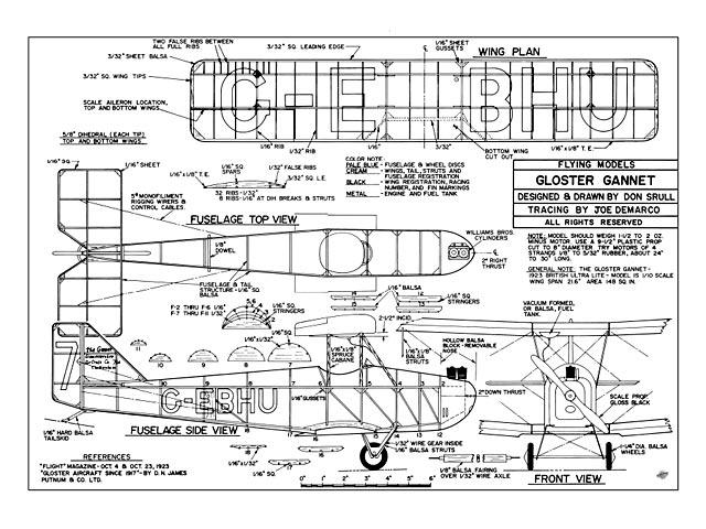 Gloster Gannet - 9345