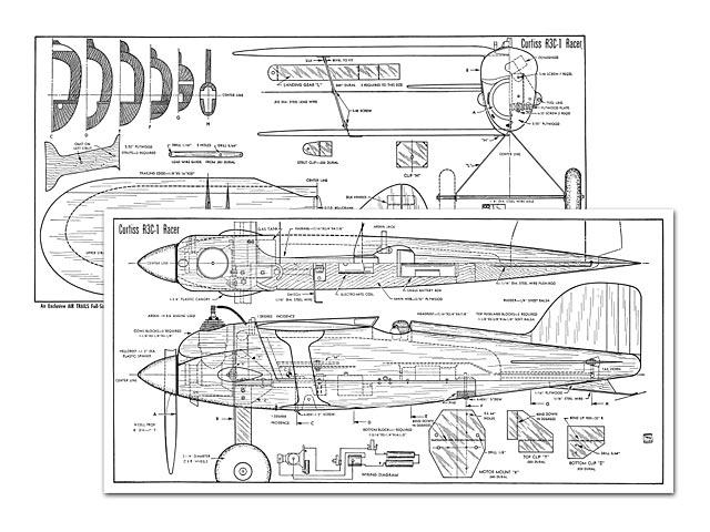 Curtiss R3C-1 Racer - plan thumbnail image