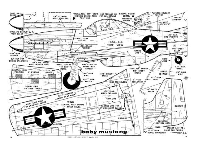 Baby Mustang - plan thumbnail image