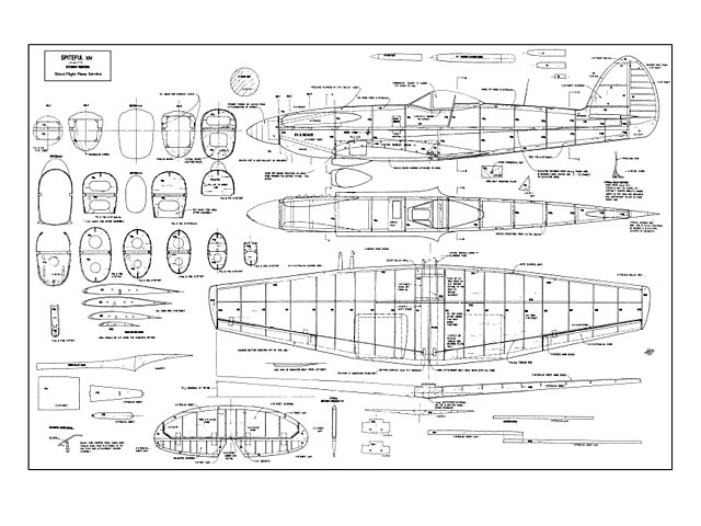 Supermarine Spiteful - plan thumbnail image