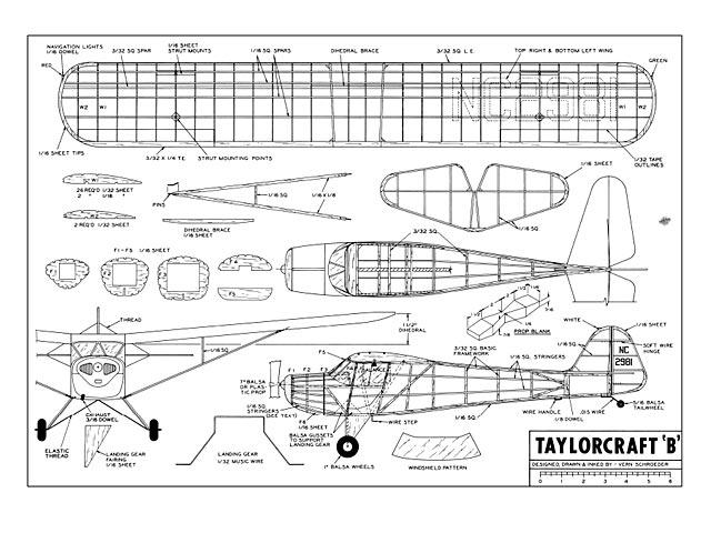 Taylorcraft B - plan thumbnail image