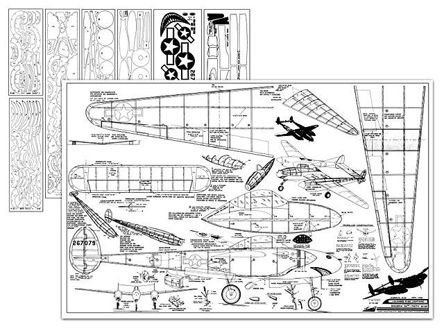 P 38 Plans