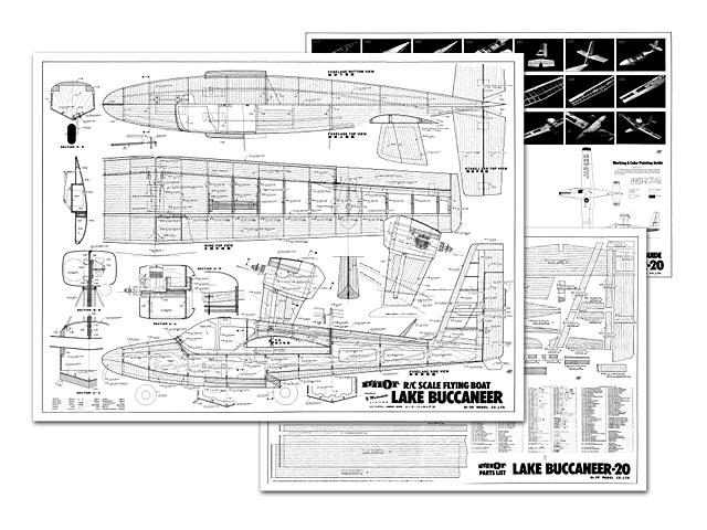 Lake Buccaneer 20 plan - Free download - Outerzone