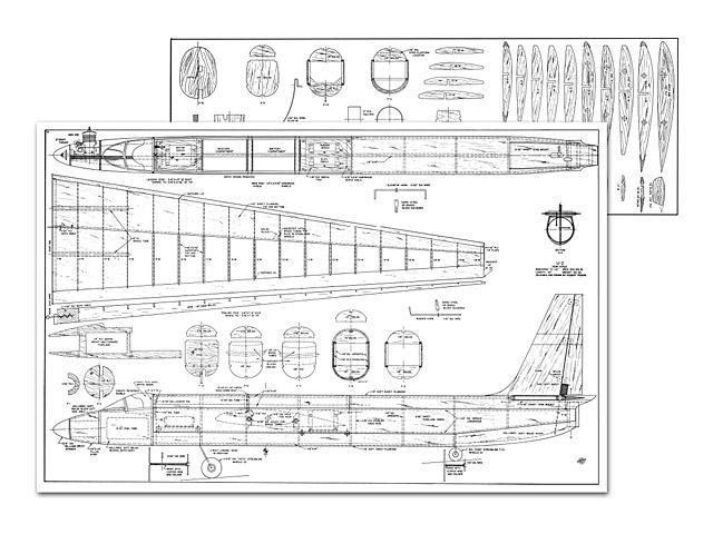Lockheed U2 - plan thumbnail image