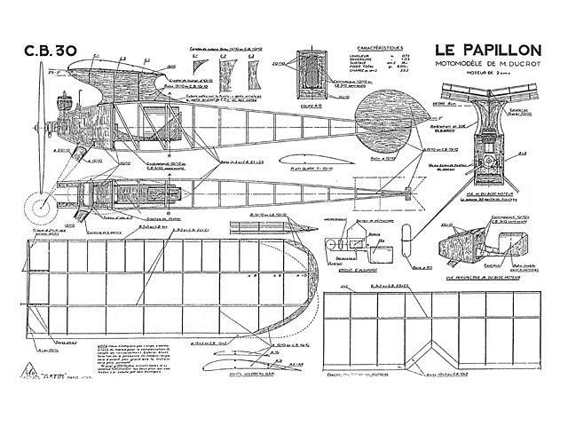 CB 30 Papillon - plan thumbnail image