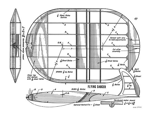Flying Saucer - plan thumbnail image