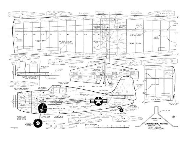 Grumman Wildcat - plan thumbnail image