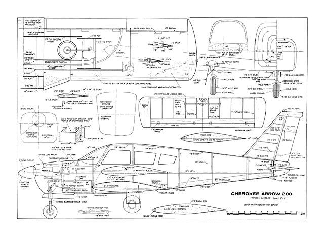 Cherokee Arrow 200 - plan thumbnail image