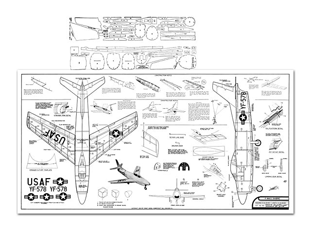 F-86D Sabre - plan thumbnail image