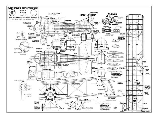 Nieuport Nighthawk - plan thumbnail image