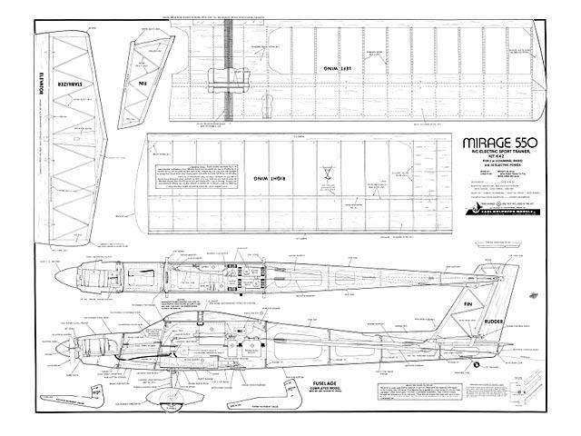 Mirage 550 - plan thumbnail image