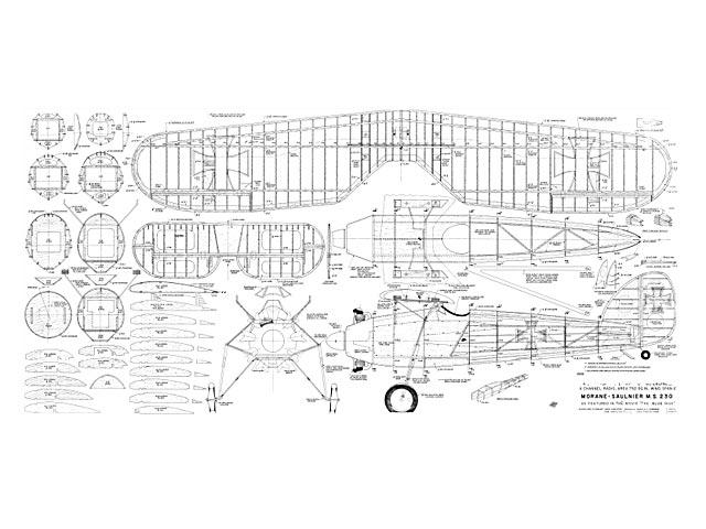 Morane Saulnier MS.230 - plan thumbnail image