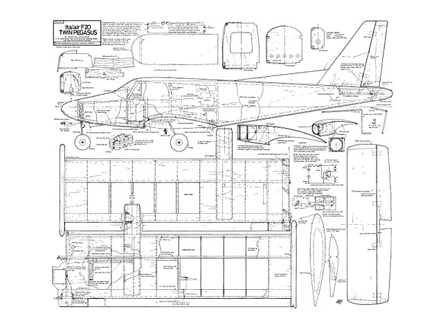 Italair F20 Twin Pegasus - 9676
