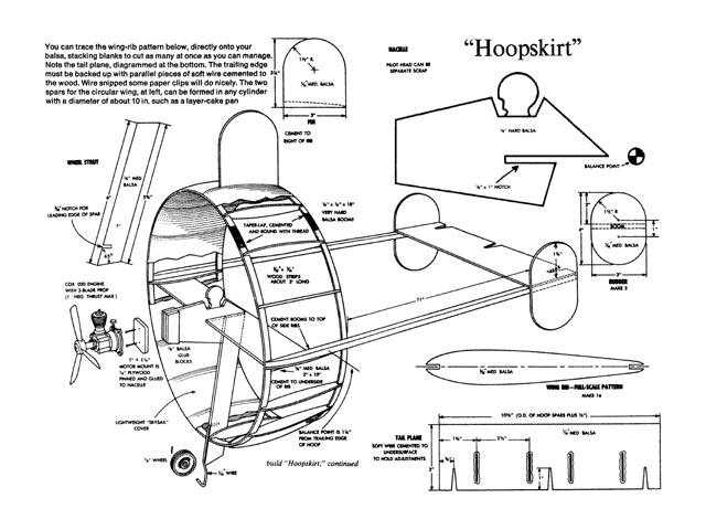 Hoopskirt - 9681