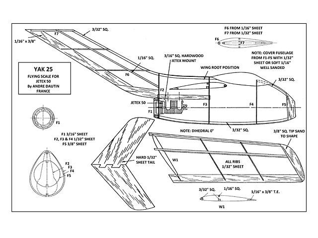 Yak 25 - 9693