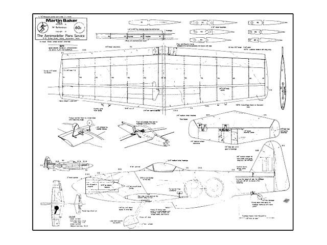 Martin Baker MB-5 - 9705