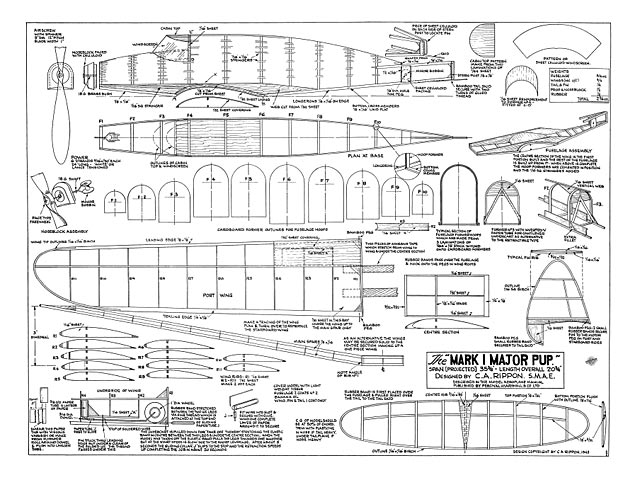 Mk1 Major Pup - plan thumbnail image