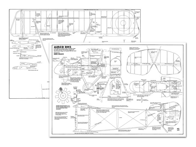 Airco DH2 - plan thumbnail image