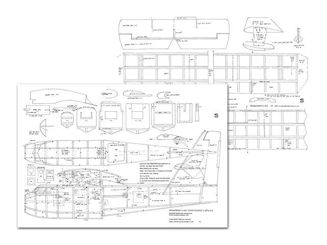Bombardier CL-415 Super Scooper - plan thumbnail image