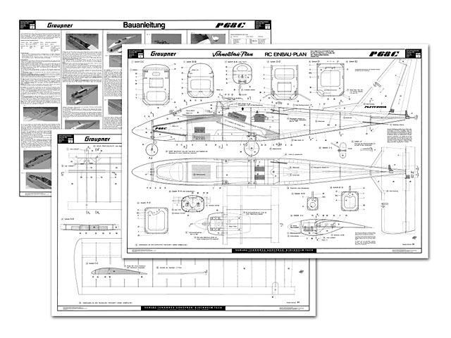 Partenavia P.68C Victor - plan thumbnail image