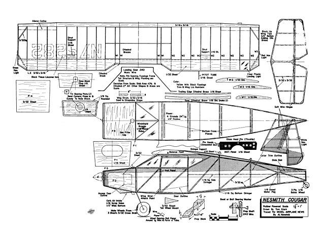 Nesmith Cougar - plan thumbnail image