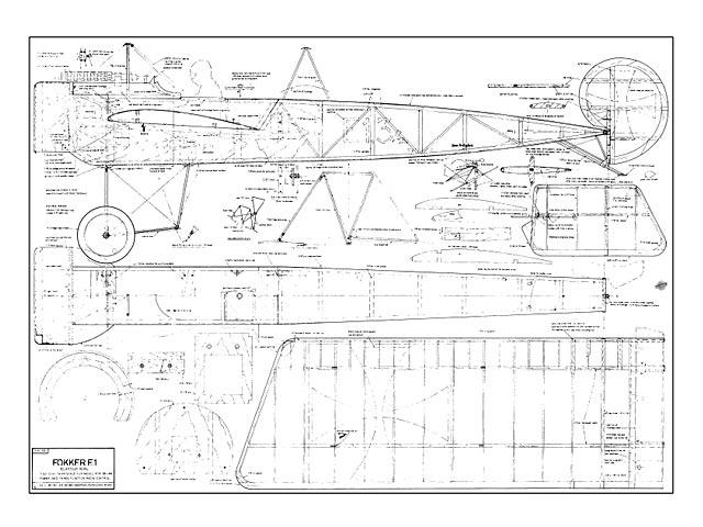 Fokker E1 - plan thumbnail image