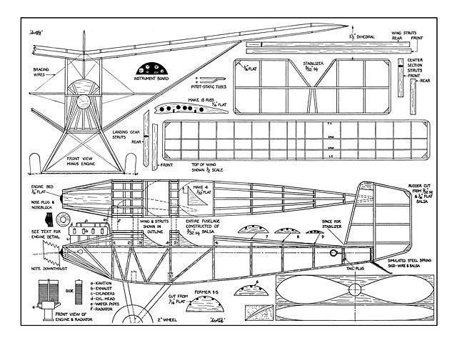 Pietenpol Sportster - plan thumbnail image