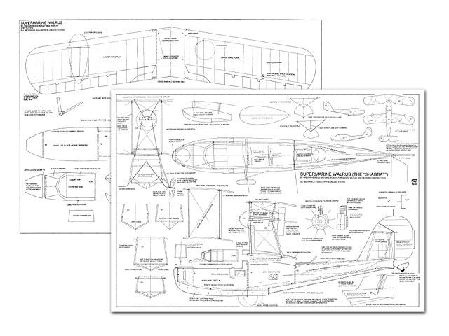Supermarine Walrus - plan thumbnail image