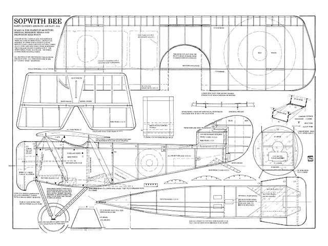 Sopwith Bee - plan thumbnail image