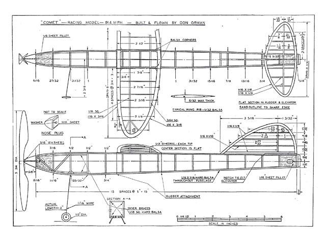 Comet Racer - plan thumbnail image