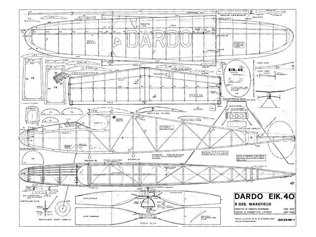 Dardo EIK 40 - plan thumbnail image