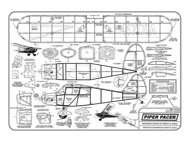 Piper Pacer - plan thumbnail image