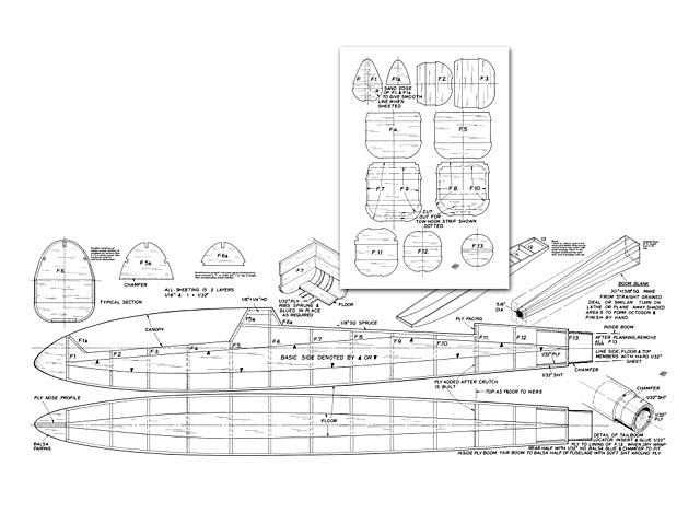 Cirrus Fuselage (Wood) - plan thumbnail image