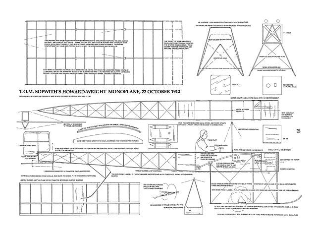 Howard-Wright Monoplane - plan thumbnail image