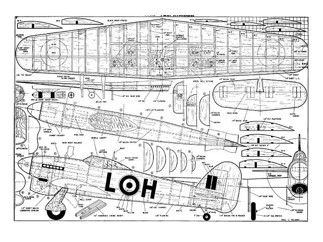 Hawker Typhoon - plan thumbnail image