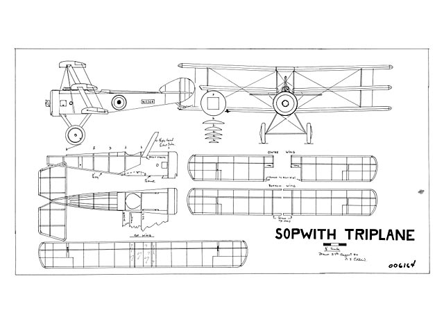 Sopwith Triplane - plan thumbnail image