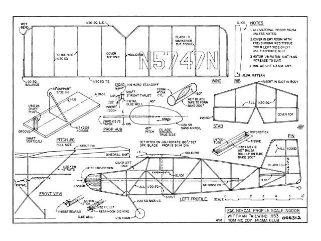 Wittman Tailwind - plan thumbnail image