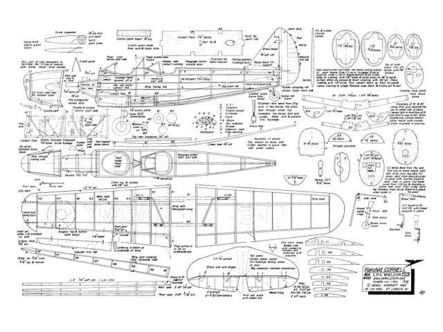 Fairchild PT-19 Cornell - plan thumbnail image
