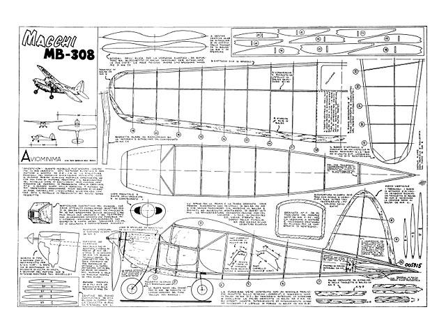 Macchi MB-308 - plan thumbnail image
