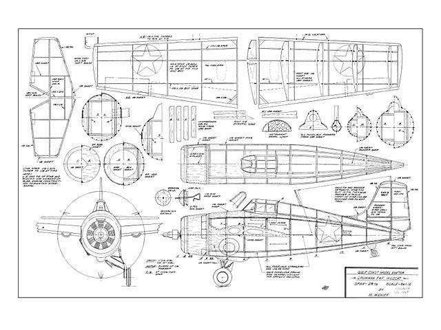 Grumman F4F Wildcat - plan thumbnail image