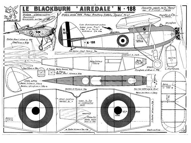 Blackburn Airedale N188 (oz998) by Emmanuel Fillon