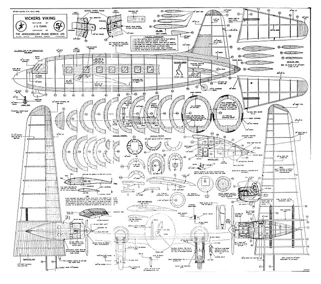 Vickers Viking plan